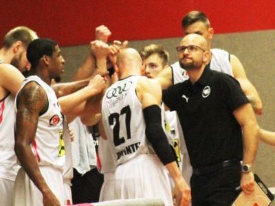 Coach Waser und das Team